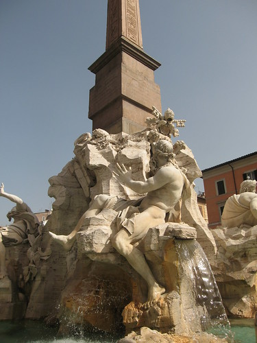 Rome loves its fountains.