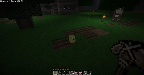 Minecraft - Aww, a chick!