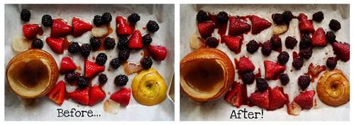 fruit roastin'!
