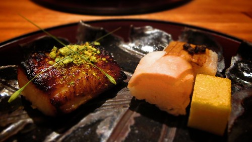 Miso marinated Black Cod with Pistachio by bloompy