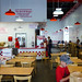 Five Guys - the dining room