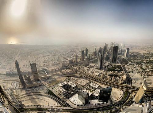 Dubai - vue de Burj Khalifa - 18-06-2011 - 17h45