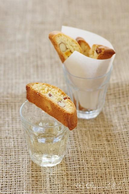 Cantucci di Siena al mandarino candito (biscotti)