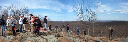 Group at Ilgenstein Rock