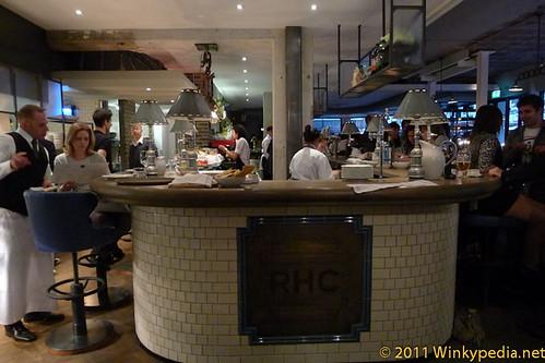 Bar at at The Riding House Cafe