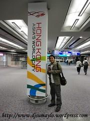arrival in hk