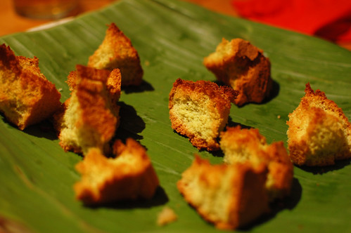 Toasted Pandan Cake