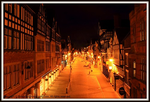 Chester , Old Town Center by Dolwolfian