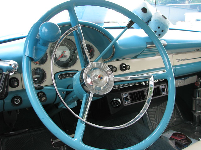 I want my steering wheel to have a knob