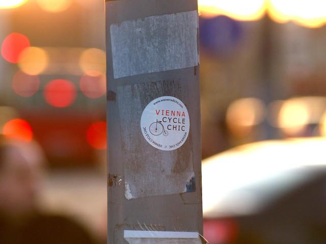 ViennaCycleChic sticker