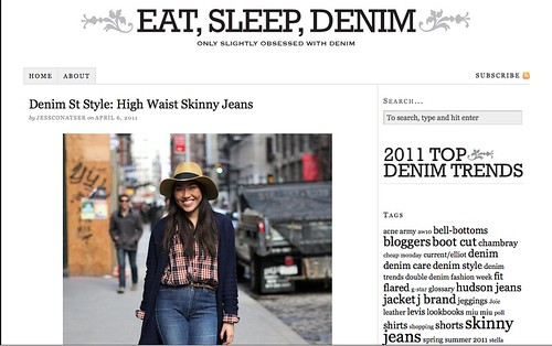 PRESS: Eat, Sleep, Denim Street Style #1