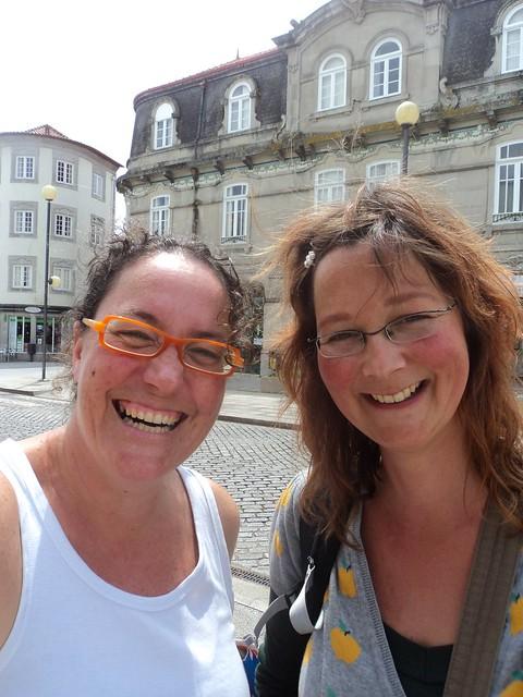 WWW...Me and Sandra at Viana do Castelo