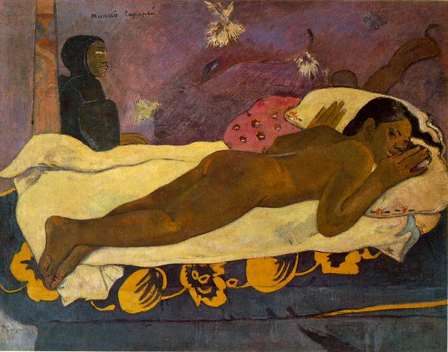 Manao Tupapau—Spirit of the Dead Keeps Watch - Paul Gauguin