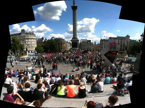 Slutwalk at Trafalgar Square