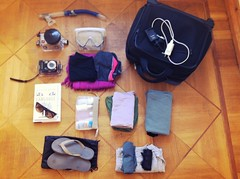 Packing for Sardinia trip/what's in my bag
