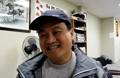 Qiang Gu (dad of Wanshan) - Calgary Go Club - CGA Open 2011