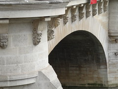 Pont Neuf grimacing faces