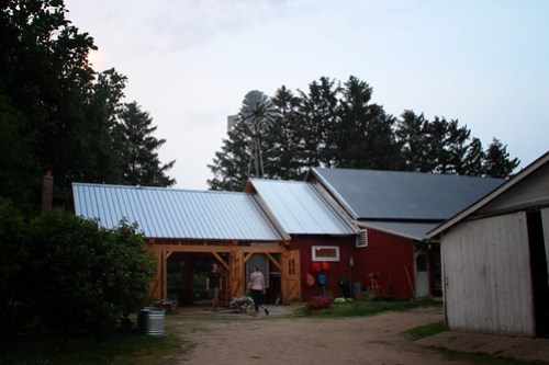 pizza farm, a to z produce, stockholm, wisconsin