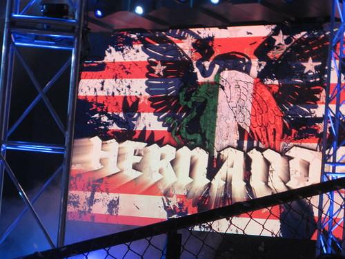 Match 1:  Hernandez (w/ Mexican America) vs. Devon