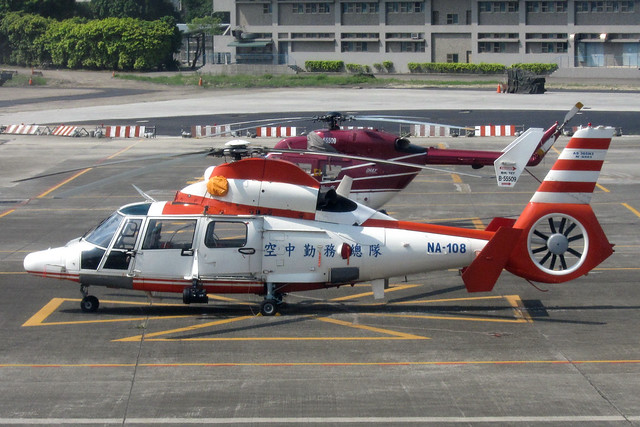 Taiwan National Airborne Service Corps AS365N3(NA-108)