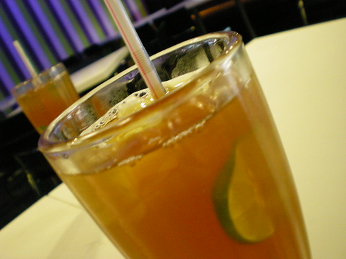 Garden's iced lemon tea