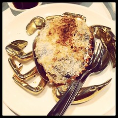 Stuffed Crab Shell