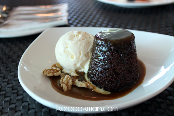 Sticky Date Pudding - Privé - Bakery Cafe @ Marina at Keppel Bay