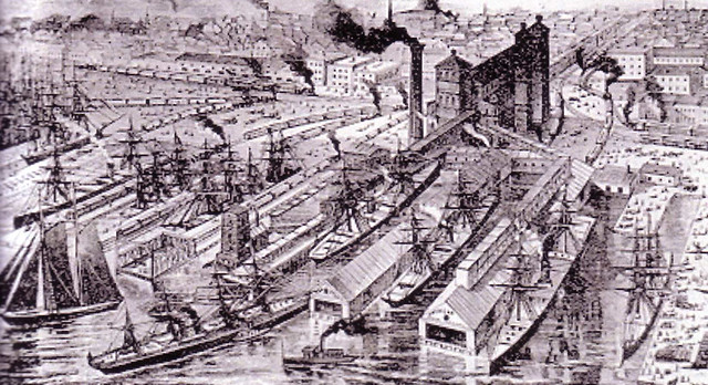 Port of Philadelphia c. 1900