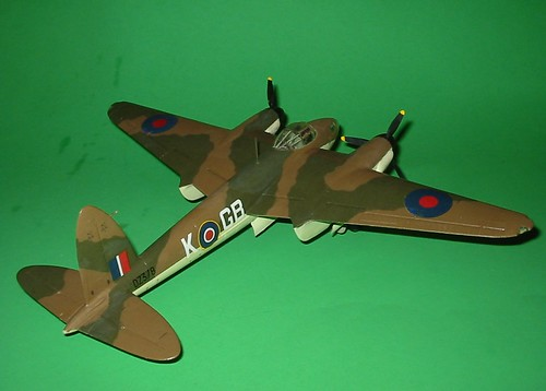 Monogram 1/48 Mosquito, completed