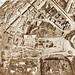 Roma, I Fori Imperiali, I Mercati di Traiano, & Alessandrino Quartiere (16 ° secolo al 21 ° secolo): Pianta Topofotografica della Zona Archeologica di Roma (1906-07).