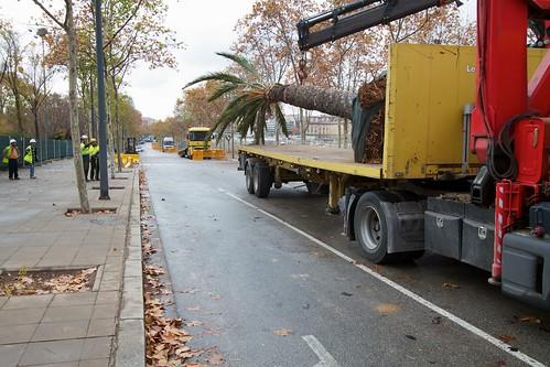 Corte en Ronda Sant Martí con Pont del Treball 05- 09-12-10