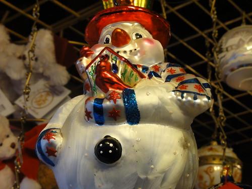 Chicago snowman