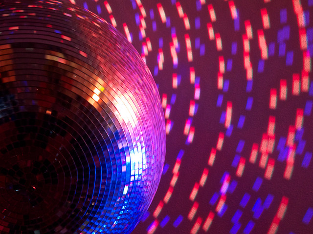 Disco ball at CCC