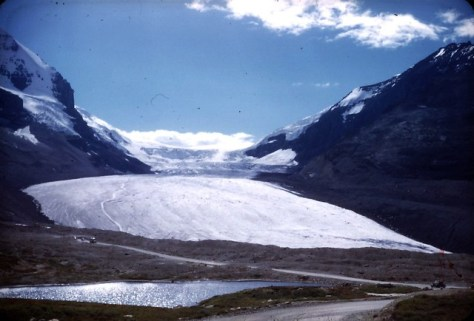 Columbia ice field - Athabasca Glacier 1948