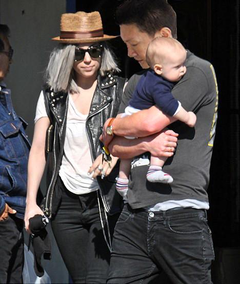 Jonal Chong with Lady Gaga