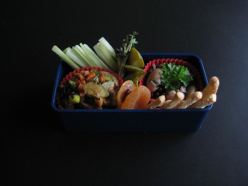 Vegan Snack Bento #128, 19-01-2011
