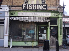 Fishing Tackle shop, Malden Road, NW5