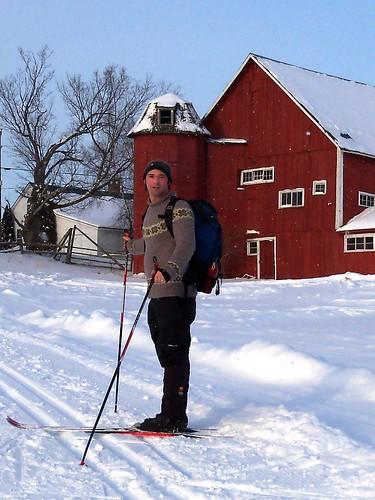 clover - neil skiing