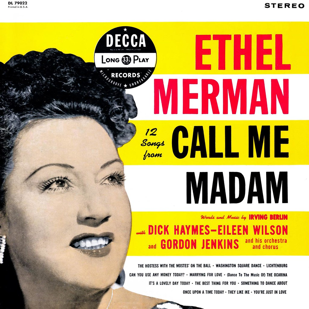 Ethel Merman - 12 Songs from Call Me Madam
