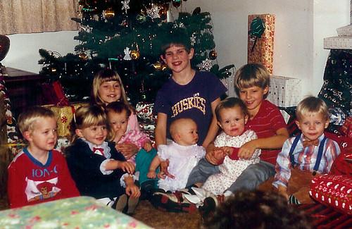 Cousins Christmas 1987