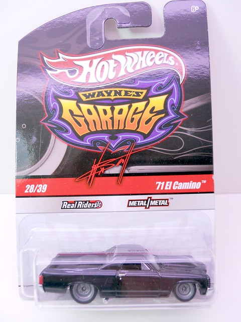 hot wheels waynes garage '71 el camino (1)