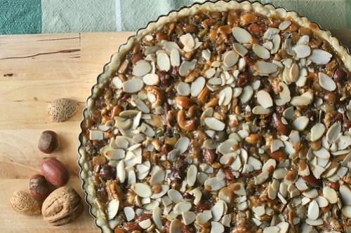 Honeyed Nut Tart