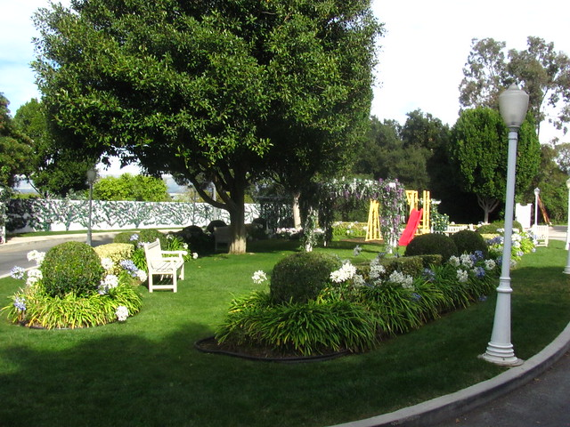 Wisteria Lane Park on the Universal Studio Tour