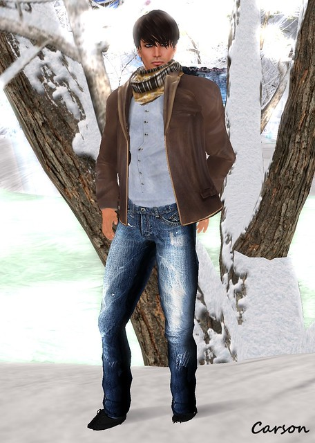 Alphamale Classic Leather Jacket ($0L) Zeerys Warm Wrap Textile Scarf MHOH5 Artmefashion Dandy Summer Blue Undershirt Be Happy! Spike Jeans