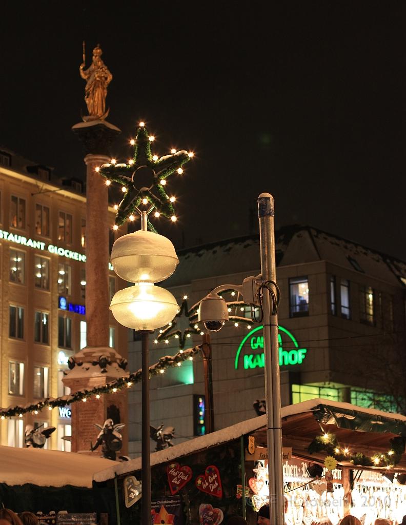 Marienplatz by night