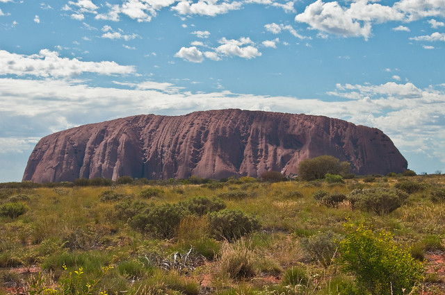 Uluru in the daytime