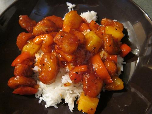 Semi-Homemade Sweet & Sour Chicken