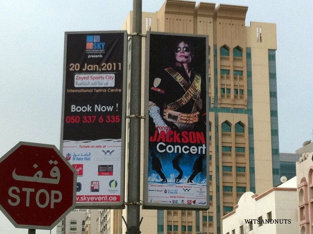 Wang Jackson in Abu Dhabi