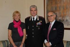 L'incontro avvenuto al Comando Provinciale dei Carabinieri di Roma