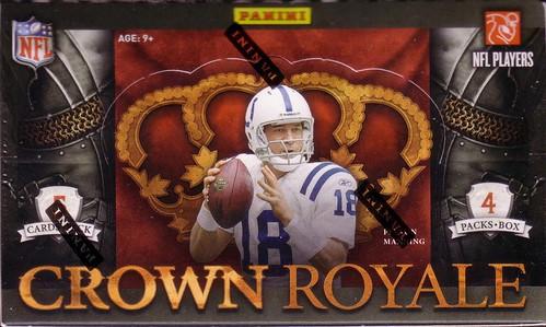 2010 Panini Crown Royale box